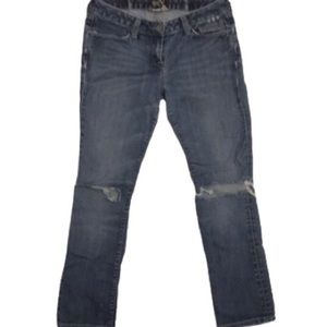 Lucky Brand Halsted Lola Skinny Distressed Size 8